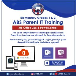 Elementary Grades 1 & 2 ABS Parent IT Training